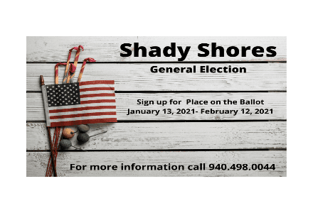 Sign Up for a Place on the Ballot